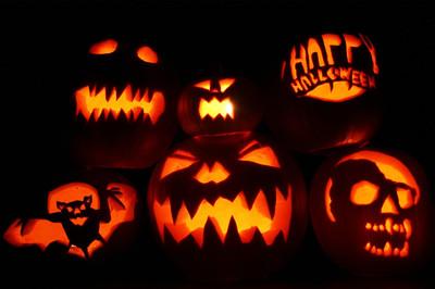 Reportages de la communaut halloween du potiron l 39 effrayante citrouille illumin e - Citrouille effrayante ...